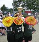 Aufgefallen waren allen Teilnehmern unsere schönen Hüte.