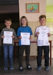 Sieger Jungen Klasse 2