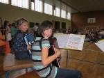 Die Akkordeongruppe der Musikschule Fröhlich sorgt für die musikalische Umrahmung