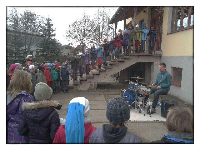Schlagzeuglehrer Sebastian Helbig