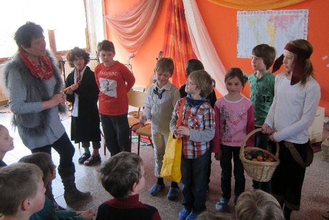 Ostersketch der Horttheatergruppe