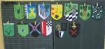 Jedes Kind entwarf sein eigenes Wappen