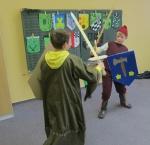 Schaukampf der Ritter