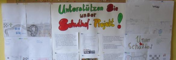 Banner Schulhofprojekt