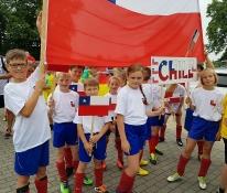 Bestens ausgestattet geht unsere Schule als Chile an den Start.