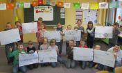 Im Vorfeld des Schulhofprojektes sammelten die Tälerschüler Ideen für die Gestaltung der Schulhoffläche